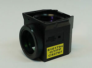 Nikon 51017bs C52767 Cfp yfp Filter Cube For Te Ti u Microscopes