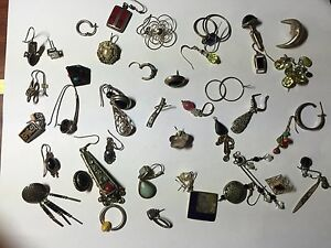 Sterling Silver Antique Vintage Scrap Fix Or Find Lot 100 G