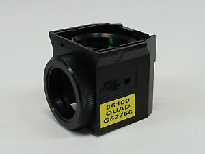 Nikon 86100 Quad C52766 Filter Cube For Te2000 Eclipse Tiu Microscope