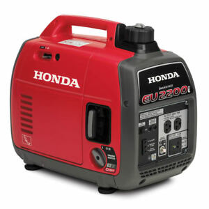 Honda Generator Eu2200i Eu2200 Watt Portable Quiet Inverter Gas Power Eu2200