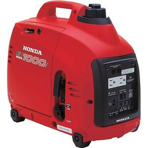 Honda Generator Eu1000i Eu1000 Watt Portable Quiet Inverter Parallel Gas Power