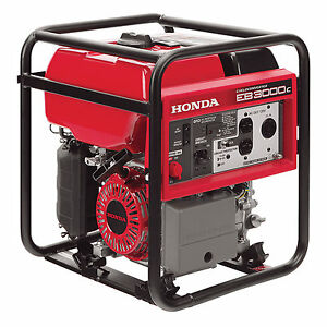 Honda Generator Eb3000c Eb3000 W Portable Gfci Cycloconver Gas Power Camping Rv