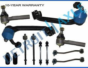 Front Upper Control Arm Tierod Sway Bars For 1995 2001 Ford Explorer Mountaineer