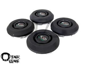 Rota Wheels Center Caps Black Frankie 4 4pcs Replacement Zero Plus Jmag