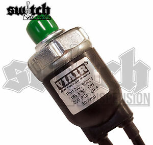 Viair Sealed Pressure Switch 165 Psi On 200 Off On Board Air Train Horn