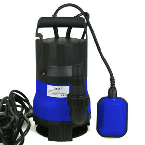 1 2 Hp Submersible Sump Pump Water Pump Pool Pond Clean Dirty Water Heavy Duty