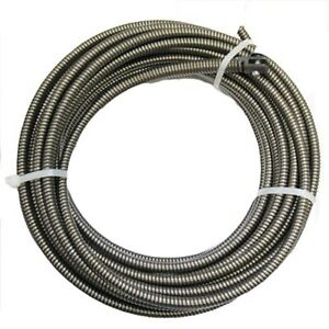 Electric Eel 1 2ic75 1 2 X 75 Ft Galvanized Replacement Cable For Drain Cleaner