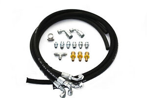 Hydroboost Brake Booster 4 Line High Pressure Hose Kit W An Pushlock Fittings
