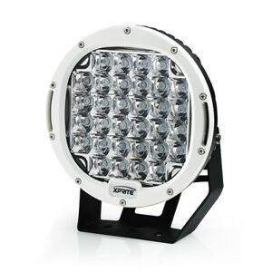 Xprite 9 Inch 96w Spot Cree Led Work Light Offroad Round Lamp For Trucks white
