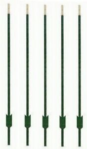 5 Midwest Air Tech 901176ab 6 Green Steel Studded Tee t Fence Posts