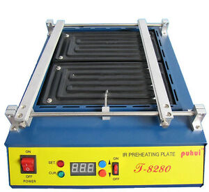 T8280 Ir Preheating Oven Ir Preheating Plate Infrared Preheating Station 110v Y