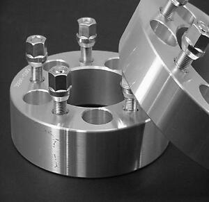 2 Pc Mustang V6 V8 Gt Wheel Spacers Adapters 1 25 Inch 5450b1 2