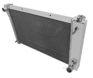 1970 1972 Chevy P Series Vans Motor Homes Alum 3 Row Champion Radiator