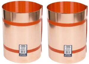 2 Rolls Amerimax Products 67314 14 X 10 Ft 16 Oz 021 Copper Roof Flashing