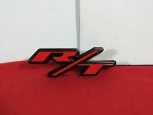 Dodge Charger Front Honeycomb Grille r t Nameplate New Oem Mopar