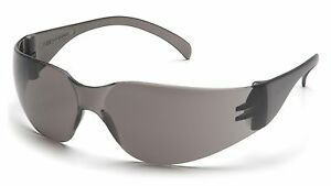 Safety Glasses Pyramex Intruder Smoke 48 Pair Ansi Uv Protection S4120s