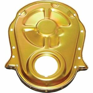 Milodon 65605 Timing Cover Gold Fits Bbc