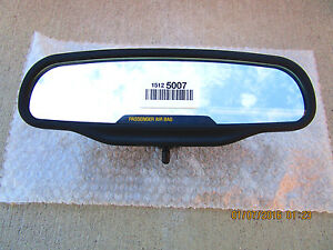 03 06 Chevy Silverado Basic Rear View Mirror With Passenger Sign New 15125007