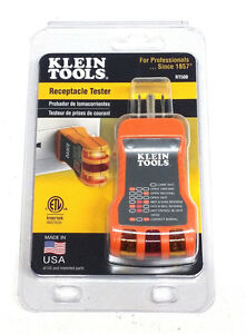 Klein Tools Receptacle Tester Rt500 made In Usa