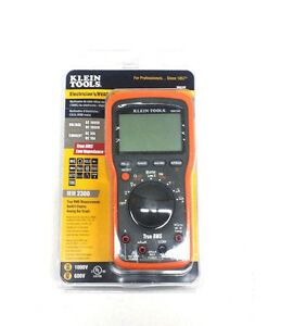 Klein Tools Mm2300 Electrician s hvac Multimeter