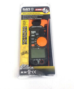 Klein Tools Cl1300a 600a Ac Clamp Meter With Temperature Clampmeter Multimeter