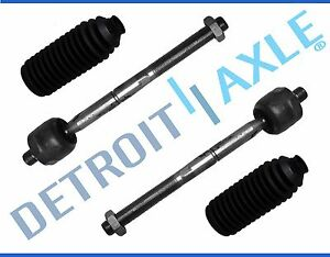 New 4pc Inner Tie Rod End Boot Kit For Dodge Plymouth Colt Eagle Mitsubishi
