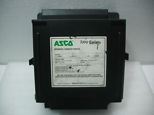 Asco 7000 Series H7atsc31200k5 Automatic Transfer Switch