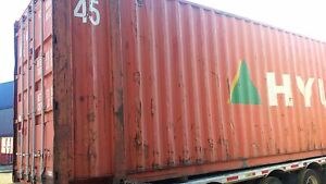 45 Hc Cargo Worthy Shipping Container In Dallas Tx