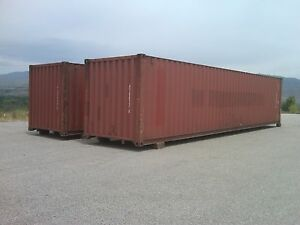 45ft Hc Cargo Worthy Shipping Container In Portland Or