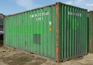 20ft Cargo Worthy Shipping Container In Columbus Oh