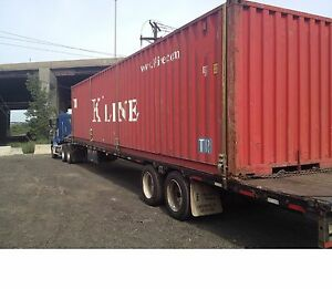 40 Cargo Worthy Shipping Container In Chicago Il