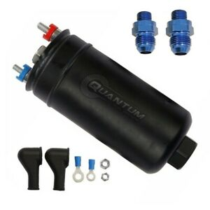 Quantum 380lph Inline External Fuel Pump W 8an Fittings 50 1005 044