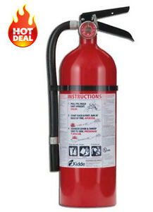 New Kidde Pro 210 2a 10b c Fire Extinguisher Home Industrial