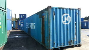 40 Hc Cargo Worthy Shipping Container In New York City Ny