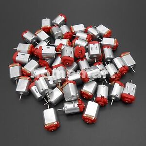100pcs Red R130 Motor Type 130 Hobby Micro Motors 8000 Rpm 3v 6v Dc 0 35 0 4a