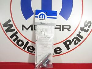 Dodge Ram 1500 Dakota Spare Tire Lock Kit With Key New Oem Mopar