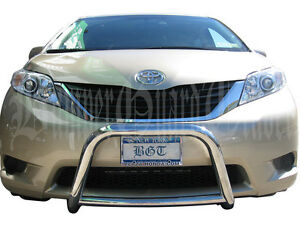 Bgt For 2011 2017 Toyota Sienna Front Bull a Bar Bumper Protector Guard S s
