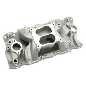 Edelbrock air gap intake in stock replacement auto auto for Gap 75014