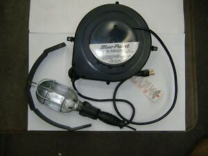 Snap On Blue Point 25 Reel Light With 120v Outlet