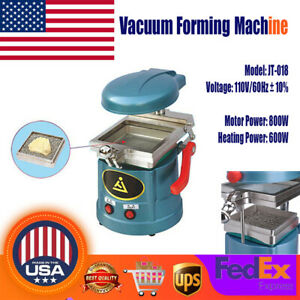 Dental Lab Vacuum Former Forming Molding Machine Equipment W Steel Balls 110v