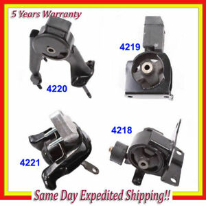 2003 2008 Toyota Corolla 1 8l Engine Motor Mount Set 4pcs For Auto Trans M124