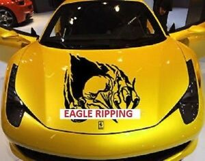 Eagle Claw Ripping Tearing Hood Decal Graphic Car Truck Boat Vinyl Sticker