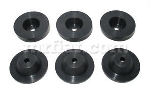 Lancia Flaminia Gt Touring Upper Chassis Antivibration Rubbers Set 6 Pcs New