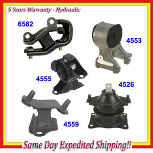Engine Trans Motor Mount For 05 06 Honda Odyssey 3 5l Lx Ex Set Of 5pcs M415