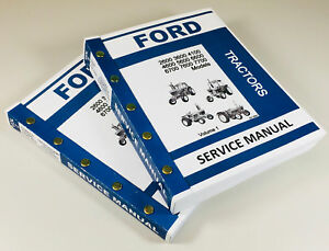 Ford 5600 6600 6700 7600 7700 Tractor Service Manual Technical Repair Shop