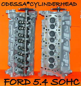 Pair Ford Lincoln Navigator 4 6 5 4 Sohc Cylinder Heads Casting Rf 2l1e Rebuilt