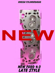 1 New Ford Ranger Bronco 4 0 Ohv Cylinder Head Late Stlye Complete