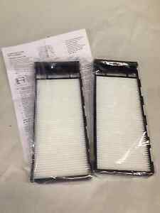 New Set Of 2 Cabin Air Filter Elements Fits Nissan Infiniti 999m1 Vp003