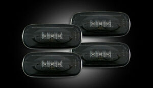 03 09 Dodge Ram 3500 Recon Dually Fender Lights Smoked 264131bk