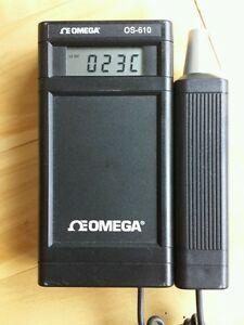 Omega Os 610 Infrared Pyrometer Thermometer 0 600f 315c